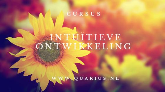 Cursus intuitieve ontwikkeling Limburg Quarius