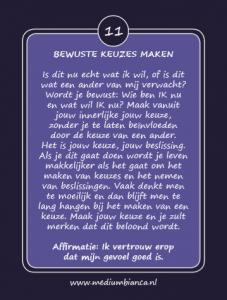 Inspiratiekaarten Bewuste keuzes maken kaart 11 Medium Bianca.nl