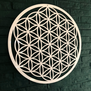 Flower of Life acryl wit 59 cm Quarius Limburg